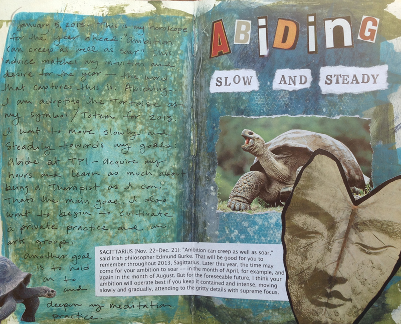 Visual journaling for classes, groups and workshops for stress relief and well-being