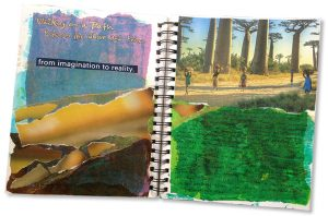 Visual journaling workshops and groups
